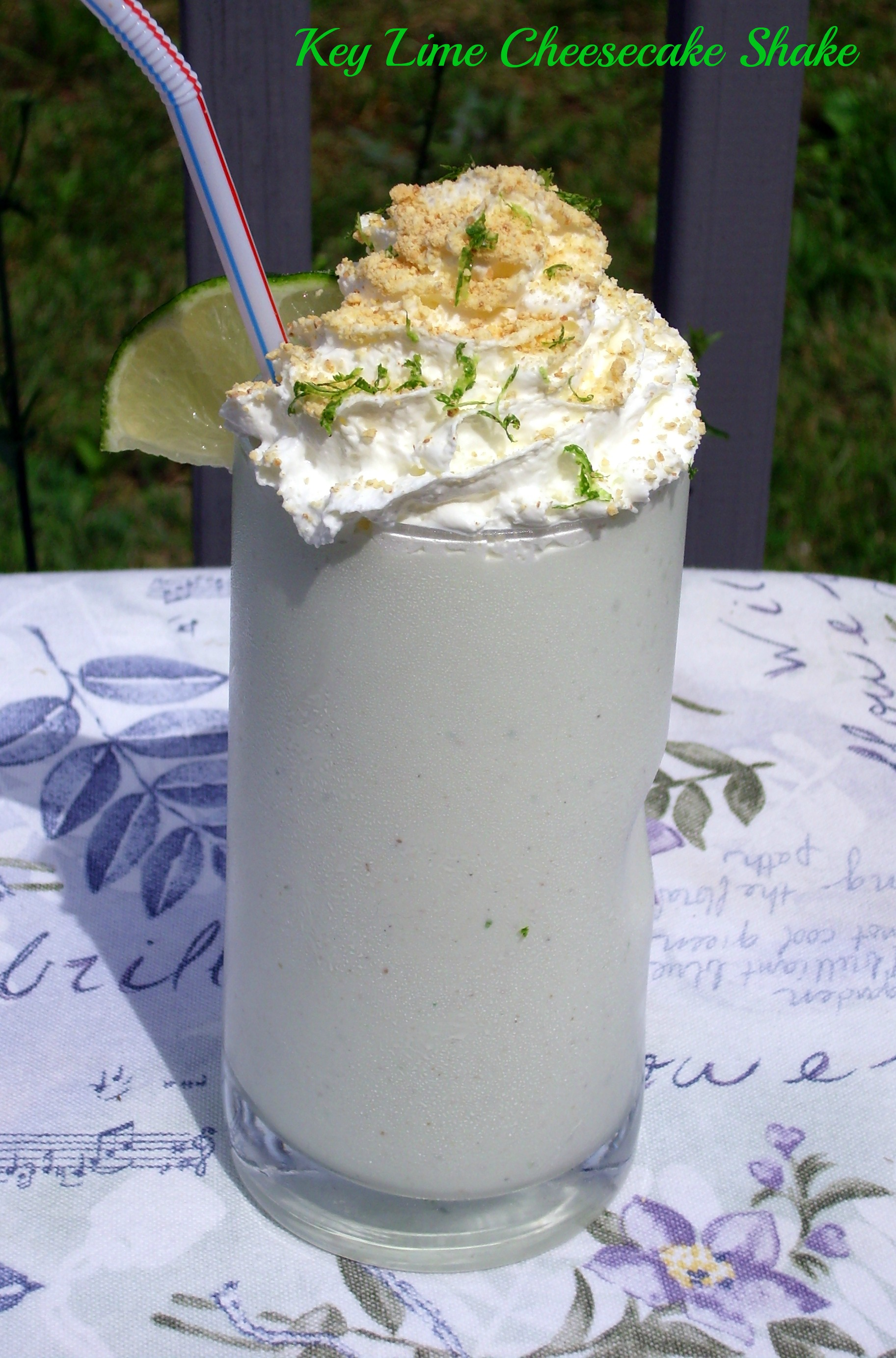 Key Lime Cheesecake Shake