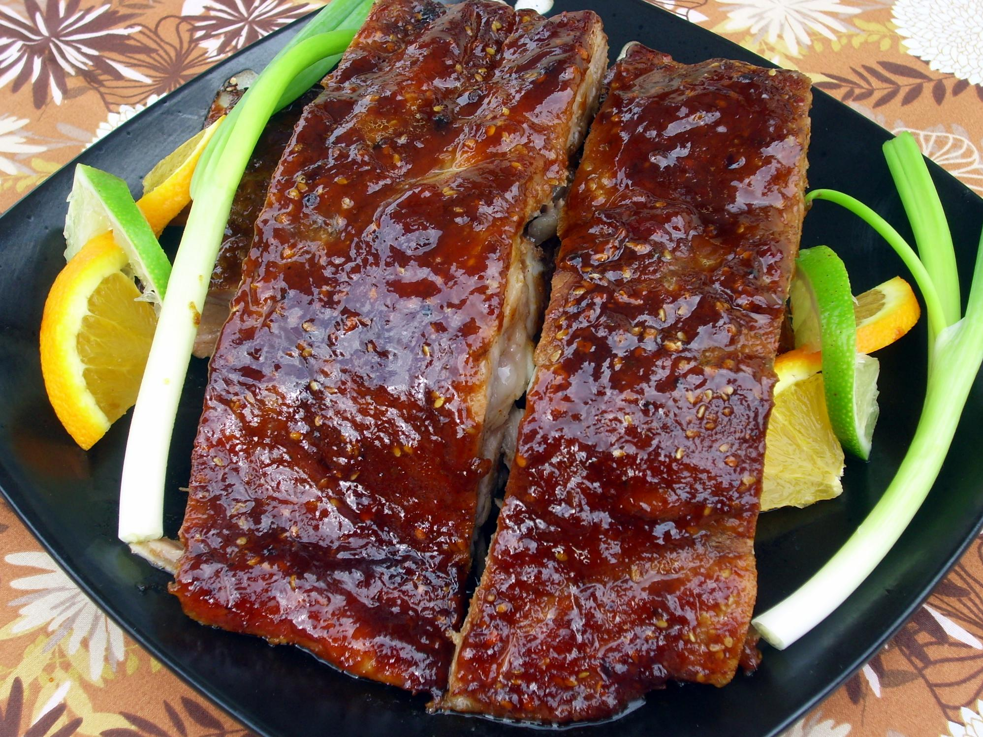 lamb spareribs herb rubbed pork spareribs with honey lemon glaze