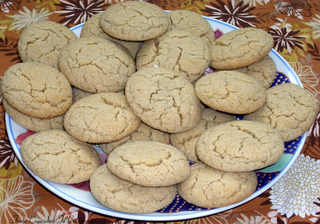 Chewy Chai Spiced Sugar Cookies