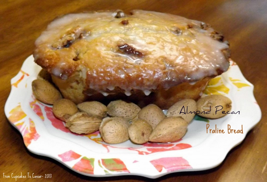 Almond Pecan Praline Bread