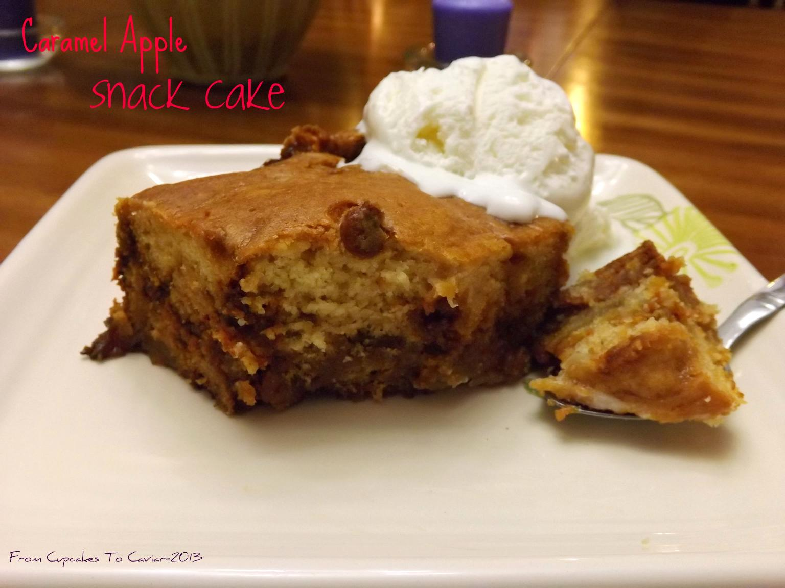 Caramel Apple Snack Cake-001