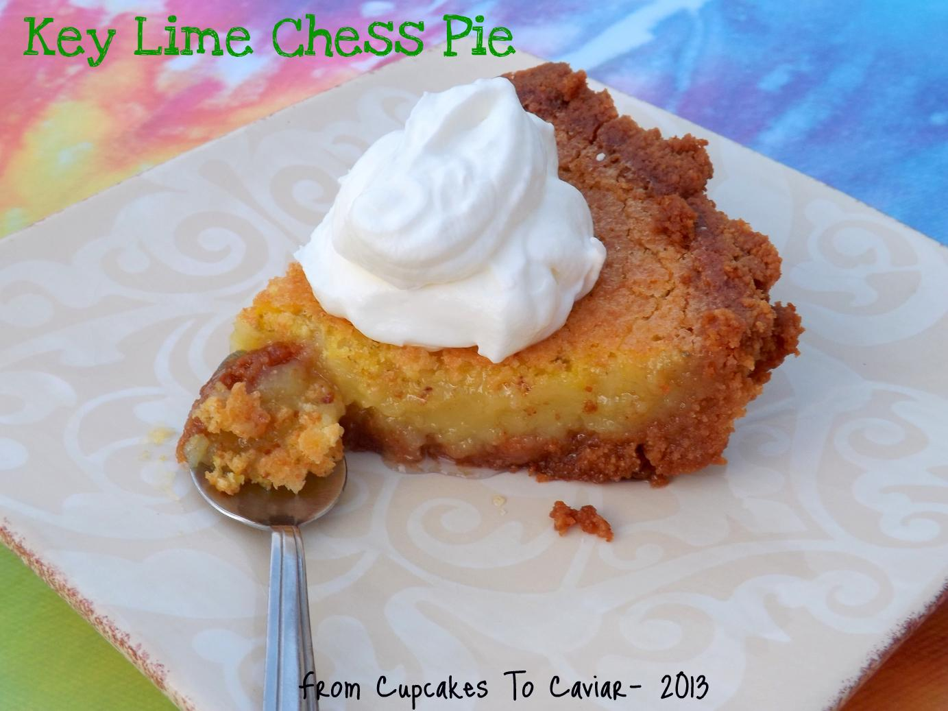 Key Lime Chess Pie 1