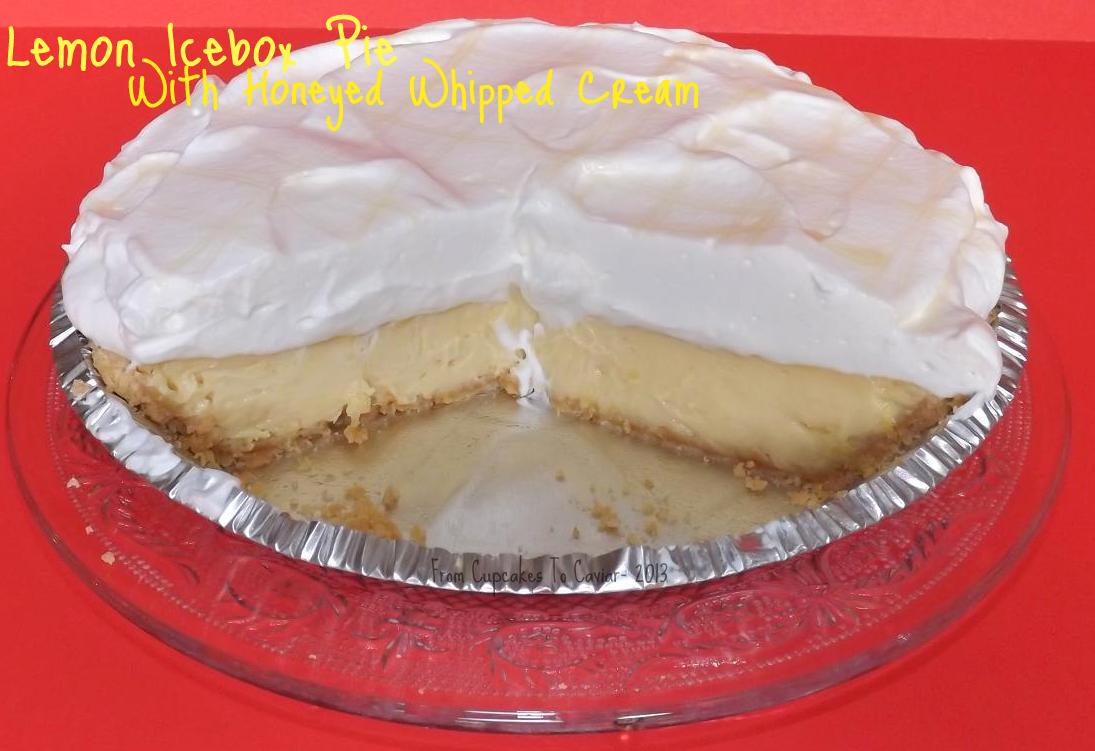 Lemon Icebox Pie With Honeyed WHipped Cream 2-001