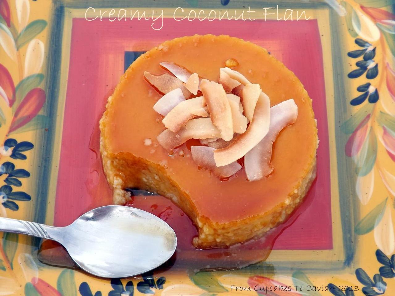 Creamy Coconut Flan