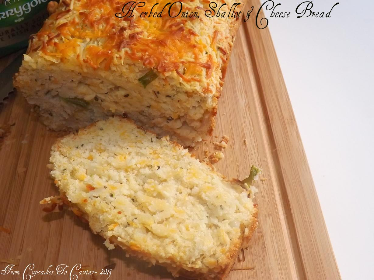 Herbed Onion, Shallot & Cheese Bread