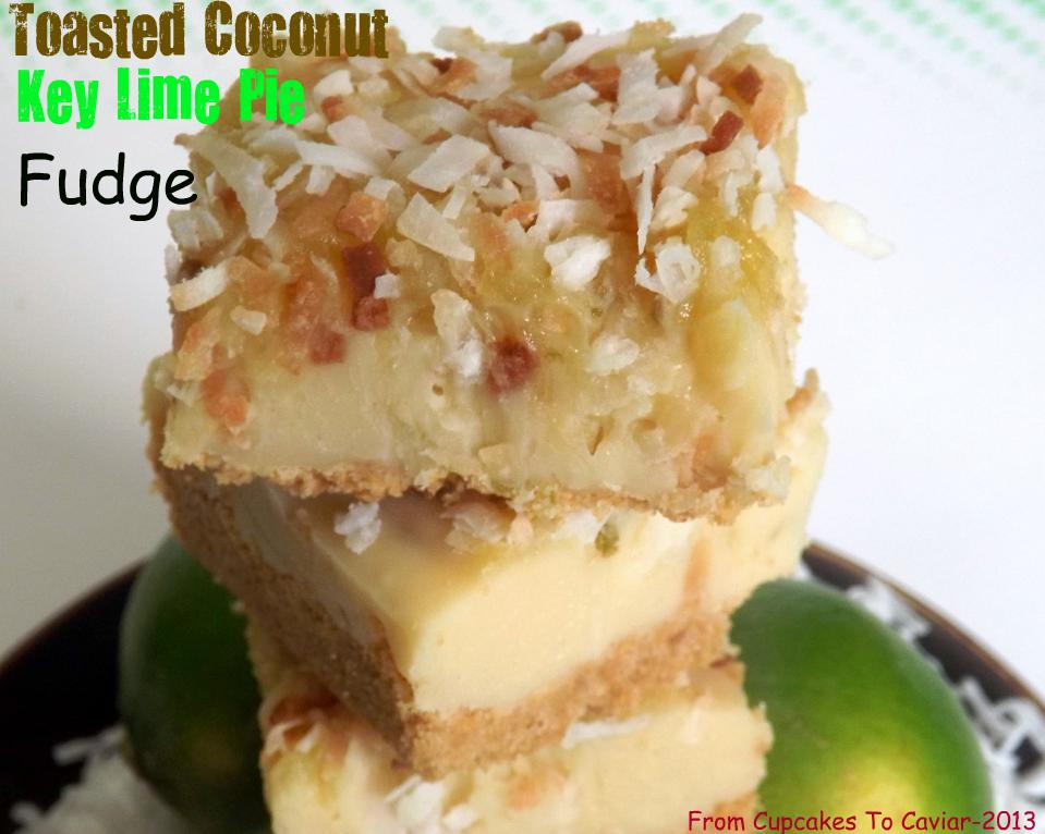 Toasted Coconut Key Lime Pie Fudge