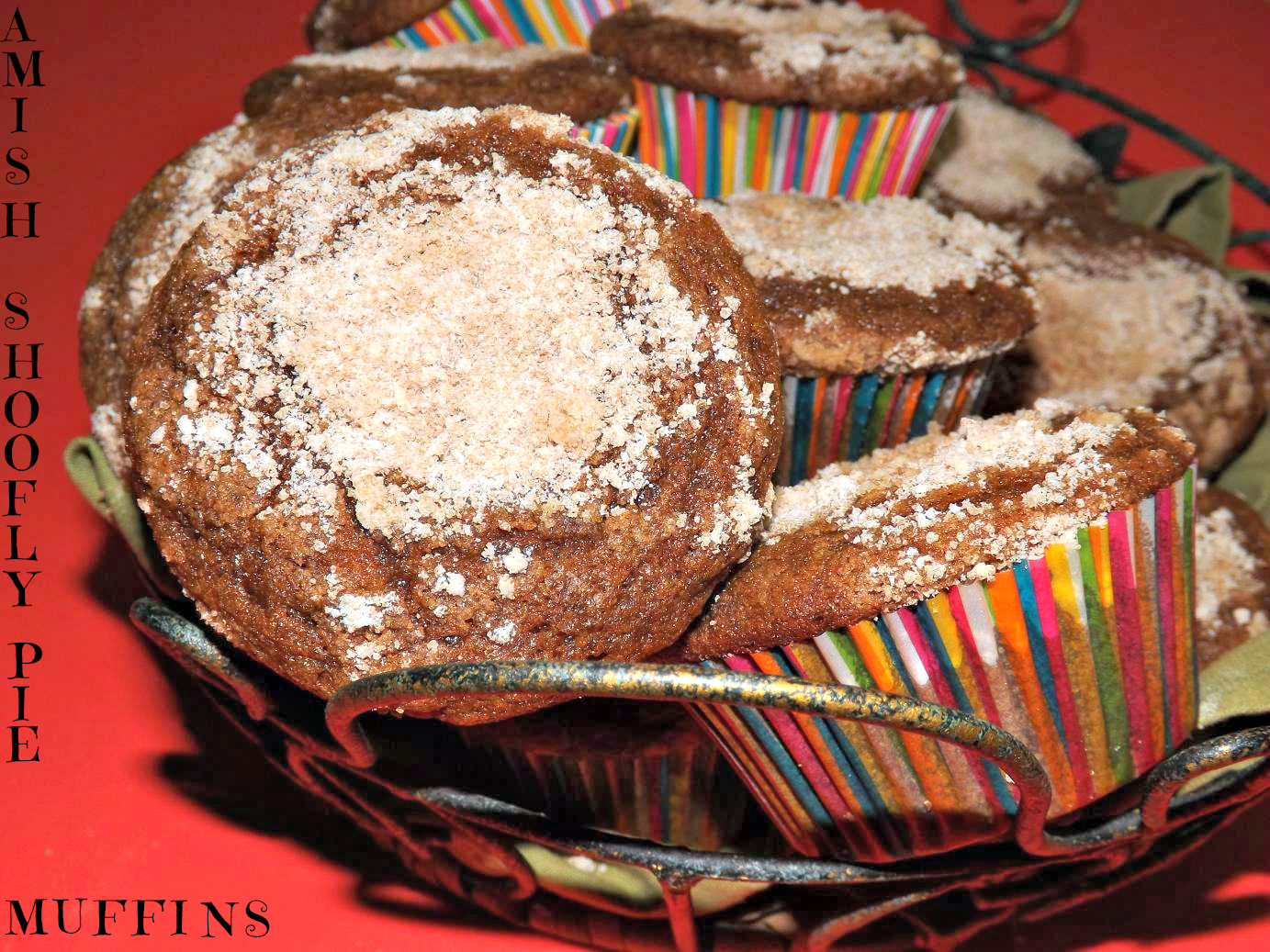 Amish Shoofly Pie Muffins