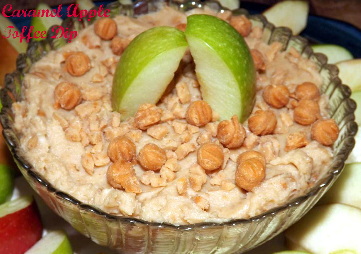 Caramel Apple Toffee Dip