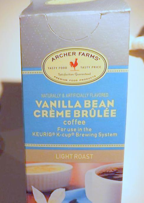 Archer Farms Vanilla Bean Creme Brulee K Cups