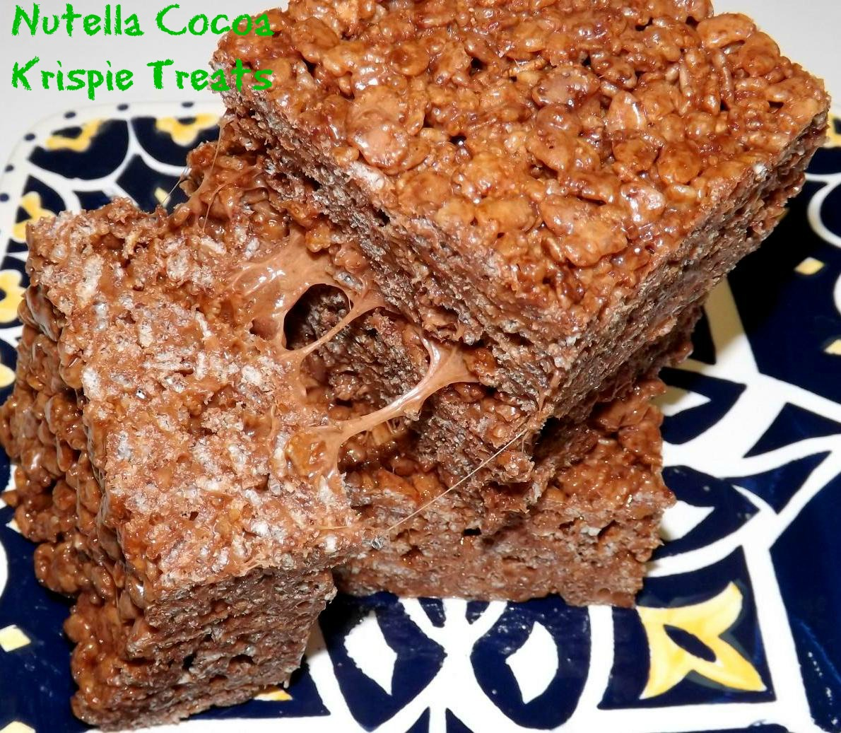 Nutella Cocoa Krispies Treats | From Cupcakes To Caviar