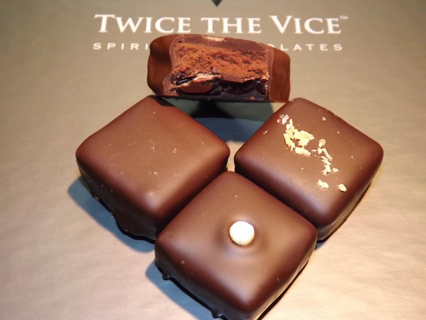 Twice The Vice sporited chocolates