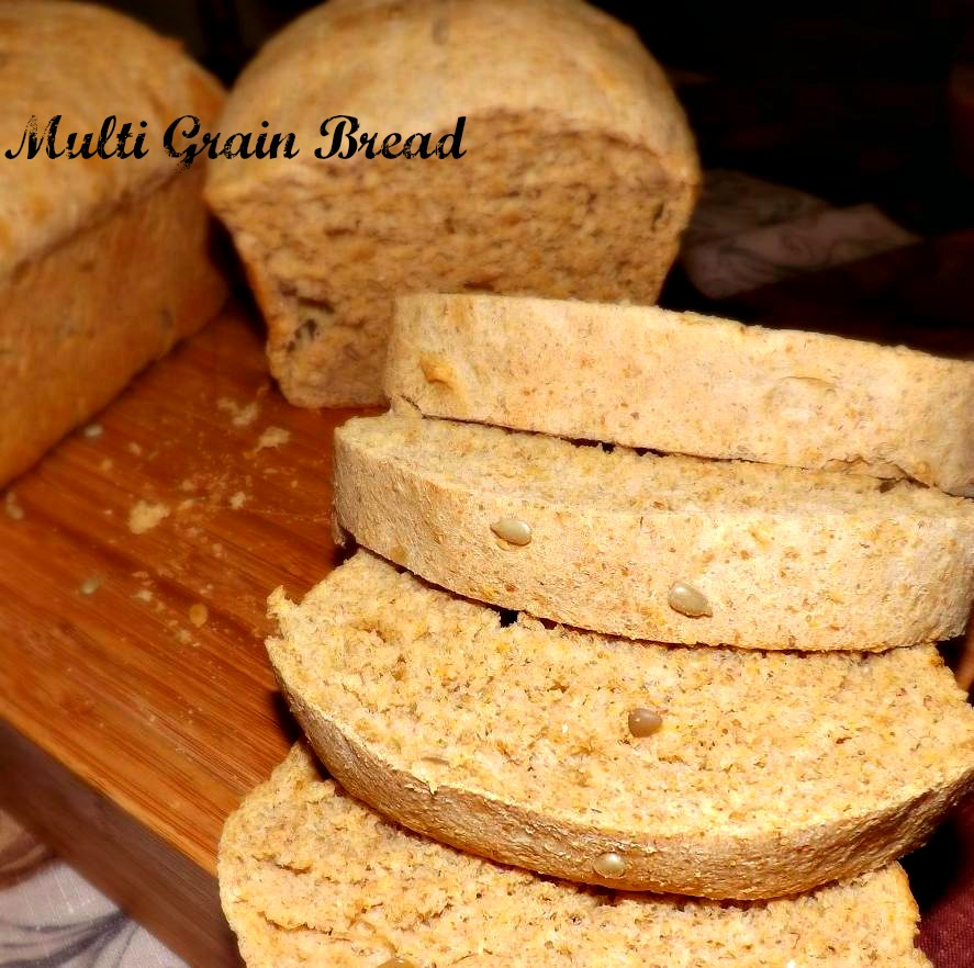 Soft, Fresh Multi Grain Bread