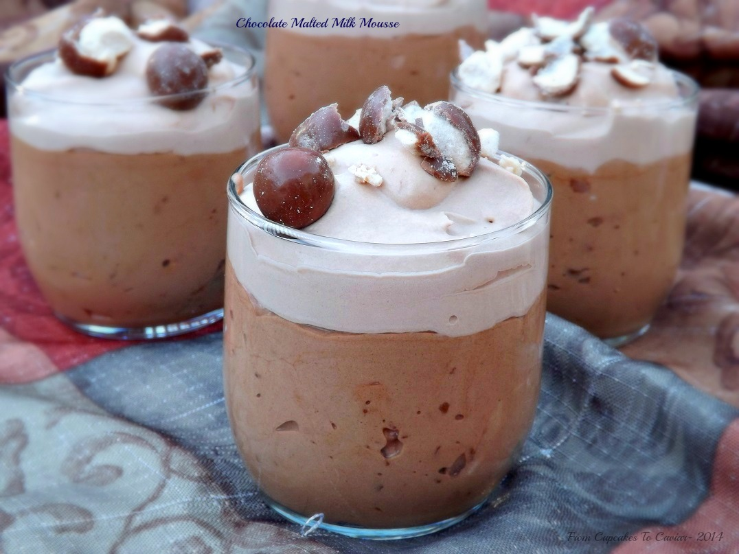 Chocolate Malted Milk Mousse