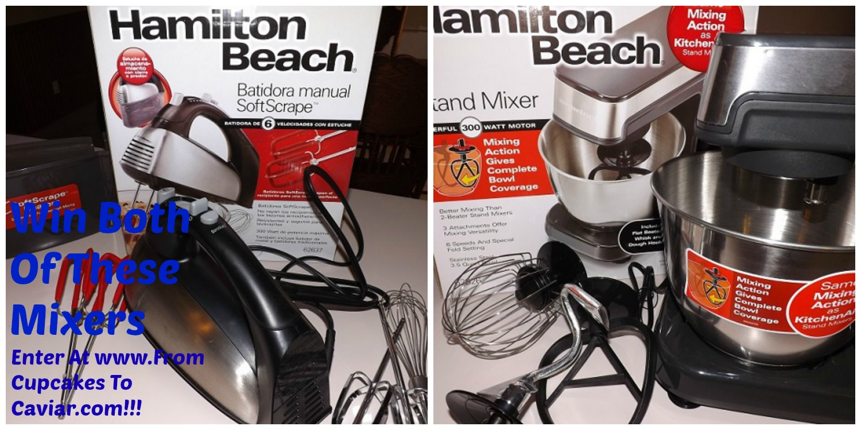 Hamilton Beach Stand Mixer & Hand Mixer Giveaway!