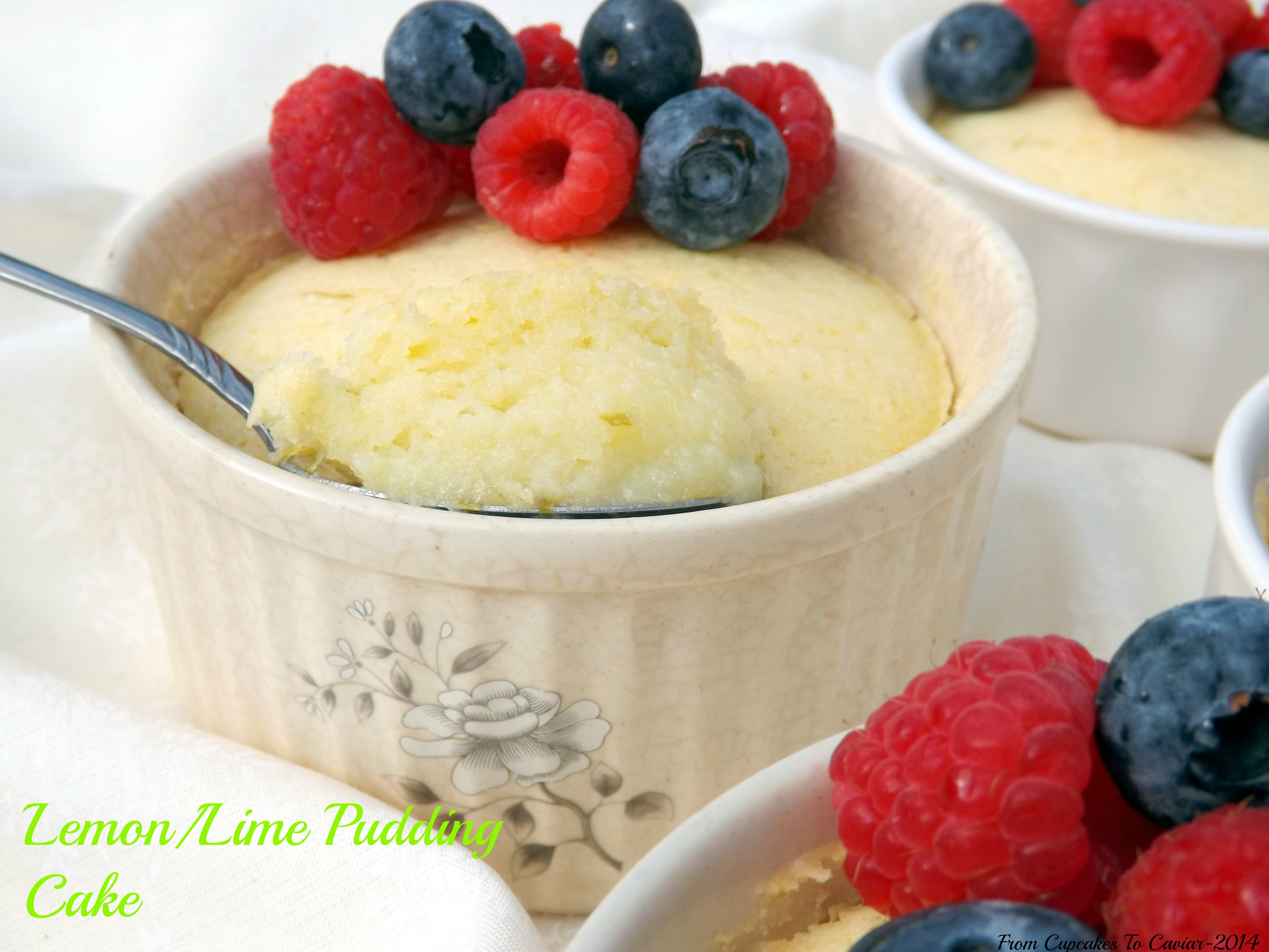 Lemon/Lime Pudding Cake