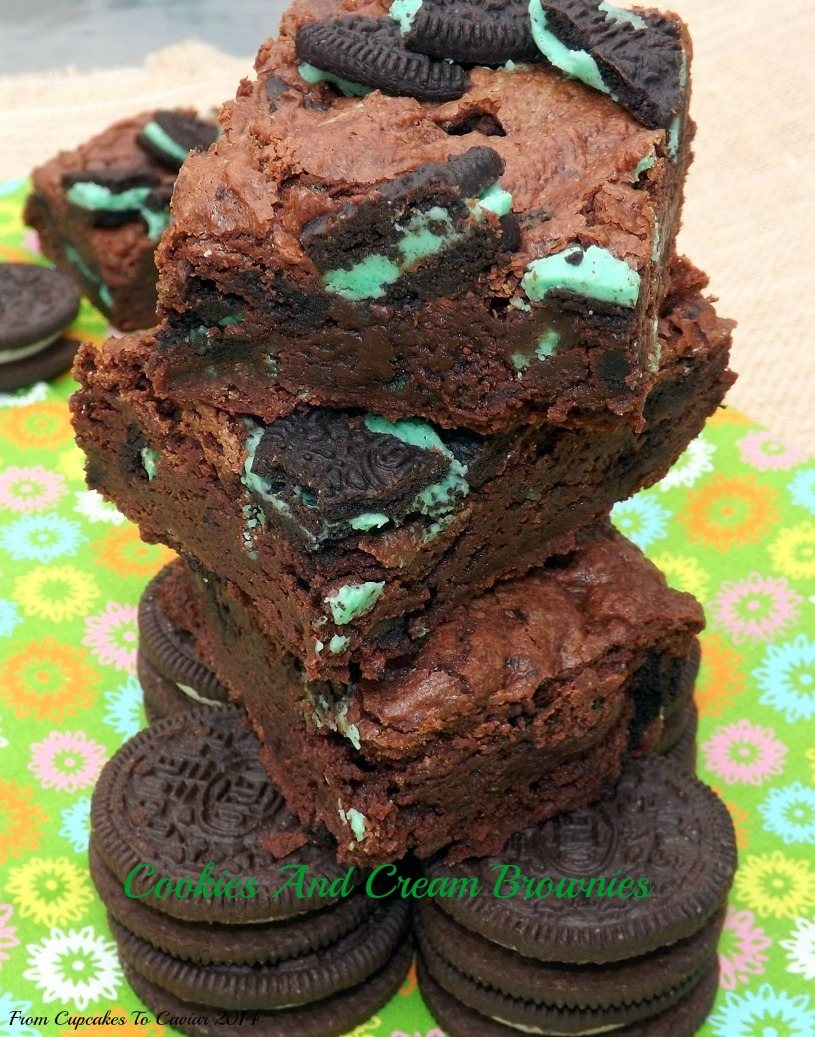 Cookies And Cream Brownies 2