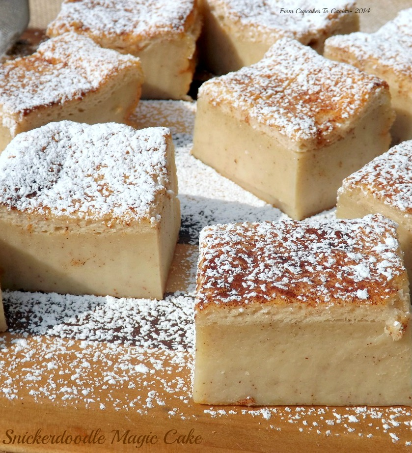 Snickerdoodle Magic Cake