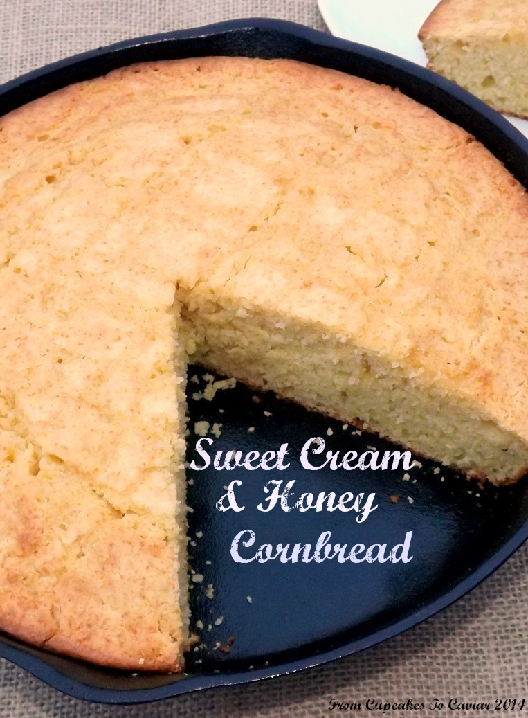 Sweet Cream And Honey Cornbread