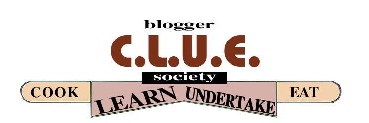 Blogger C.L.U.E. Logo