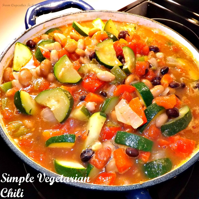 Simple,Hearty Vegetarian Chili