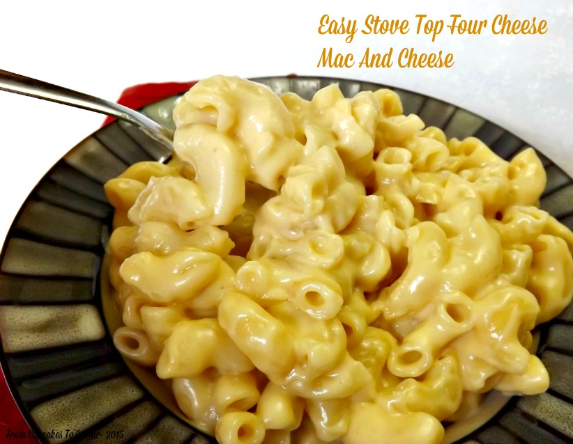 Easy Stove Top Four Cheese Mac And Cheese