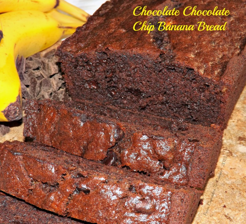Chocolate Chocolate Chip Banana Bread (Recipe Redo) | From Cupcakes To ...