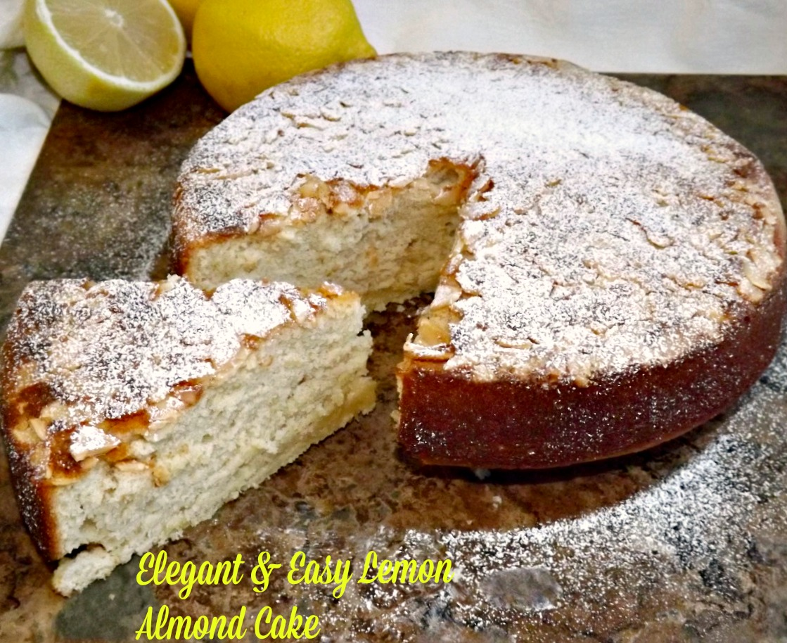Elegant & Easy Lemon Almond Cake