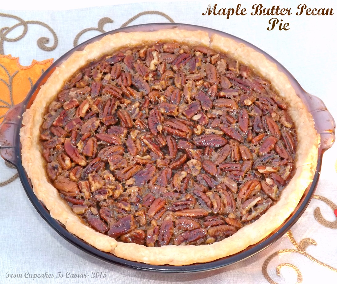 Maple Butter Pecan Pie