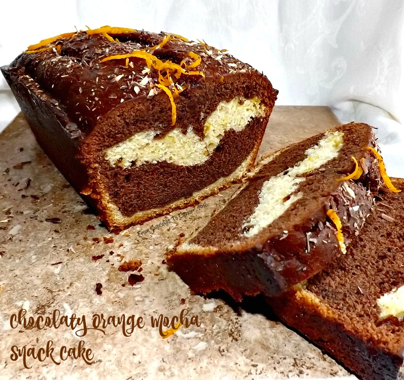Chocolaty Orange Mocha Snack Cake 2