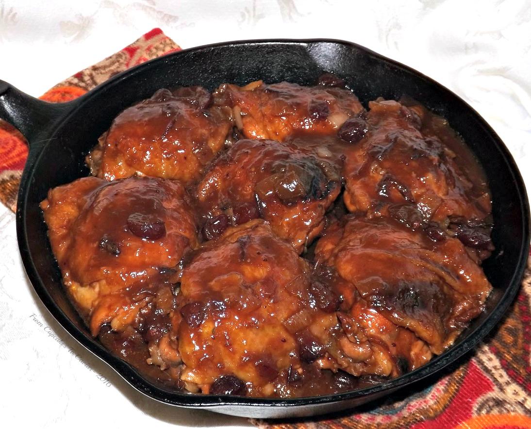 Easy Cranberry Balsamic Chicken 2