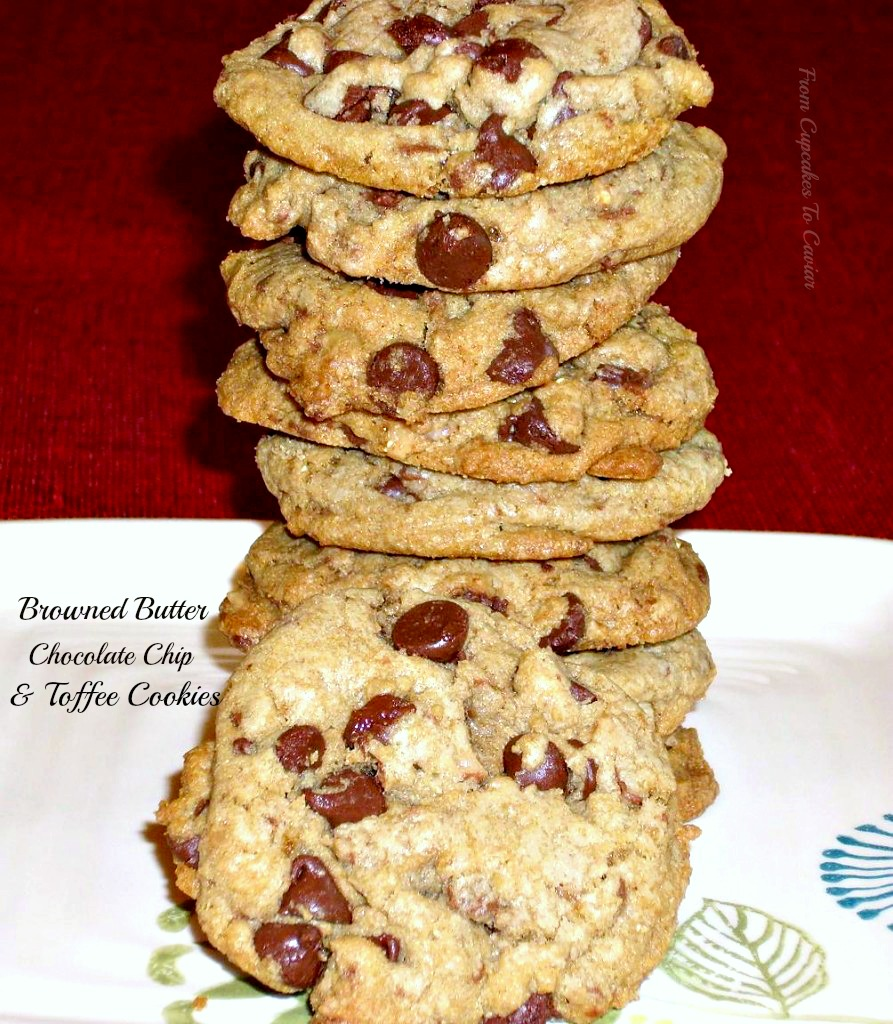 Browned Butter Chocolate Chip & Toffee Cookies