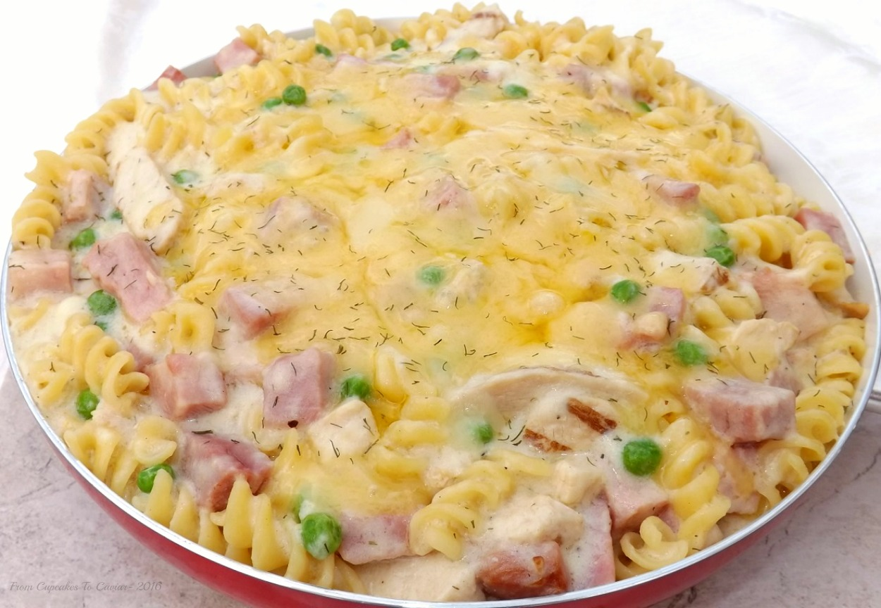 Cheesy Chicken Cordon Bleu Pasta