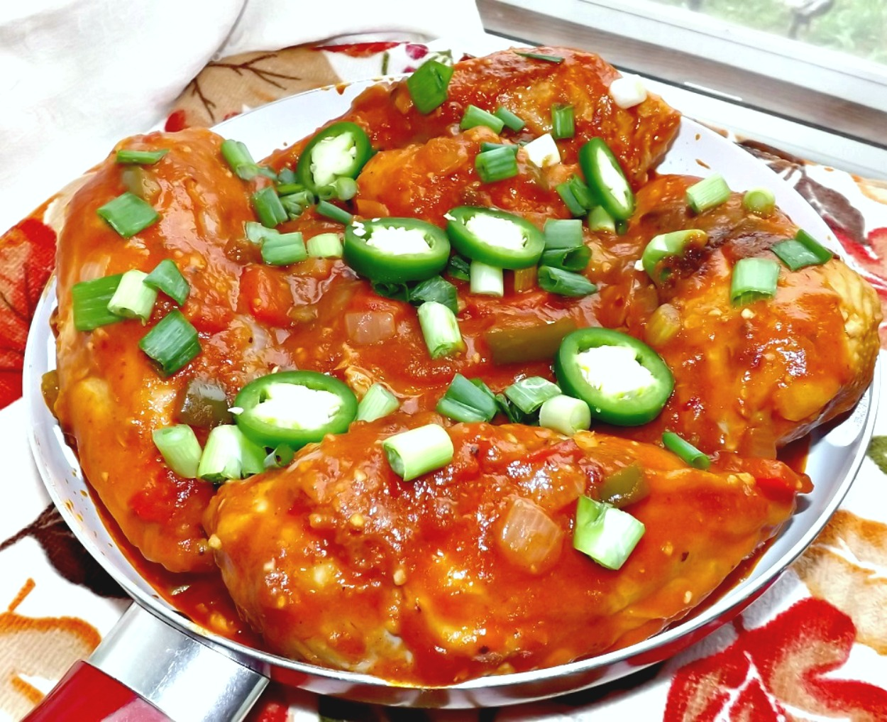 Spicy (Or Not) Cajun Chicken