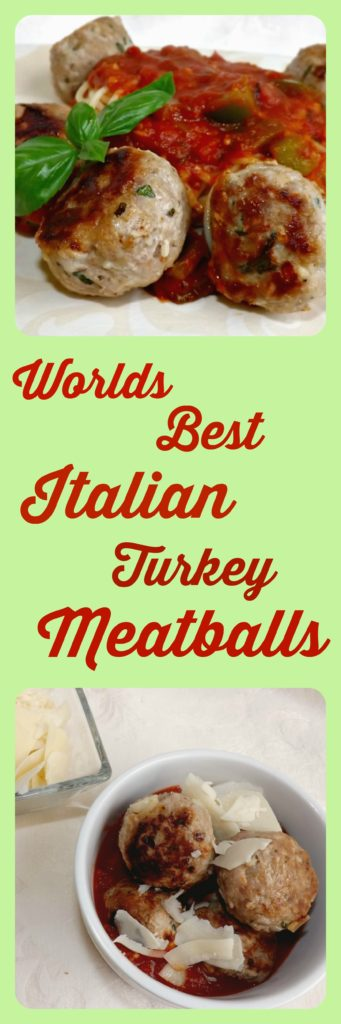 Worlds Best Italian Turkey Meatballs