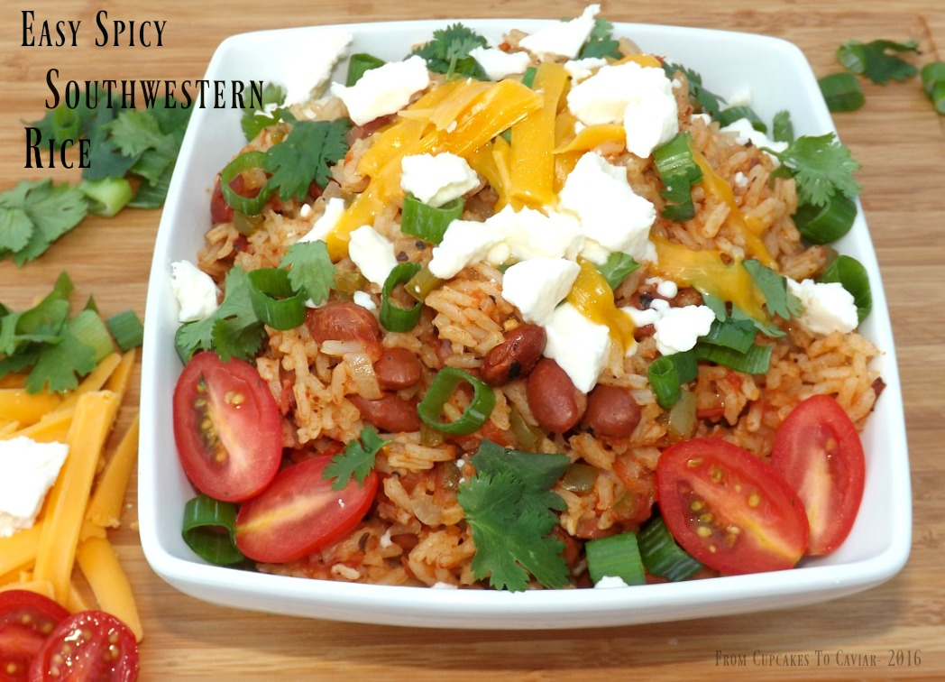 Easy Spicy Southwestern Rice 4