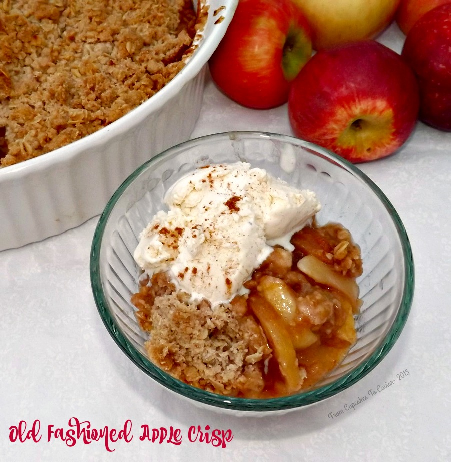 Old Fashioned Apple Crisp 2